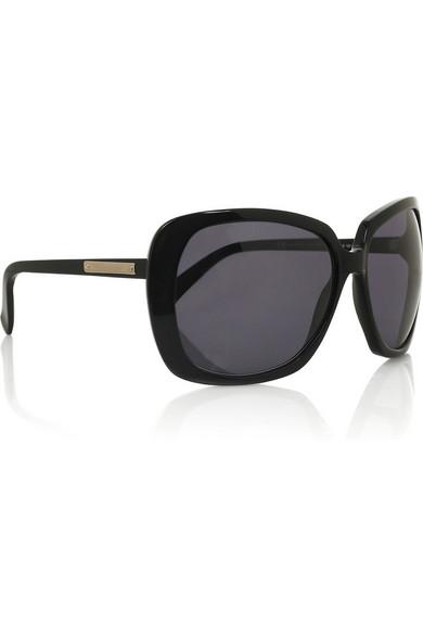 b87ae3e9b1d9 Yves Saint Laurent | Oversized acetate square-frame sunglasses | NET ...
