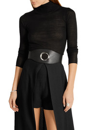 Eyelet Cincher leather waist belt