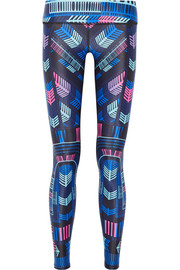 Mara Hoffman Voyager printed stretch-jersey leggings