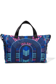Mara Hoffman Voyager printed shell gym bag