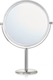 Double-sided vanity stand mirror