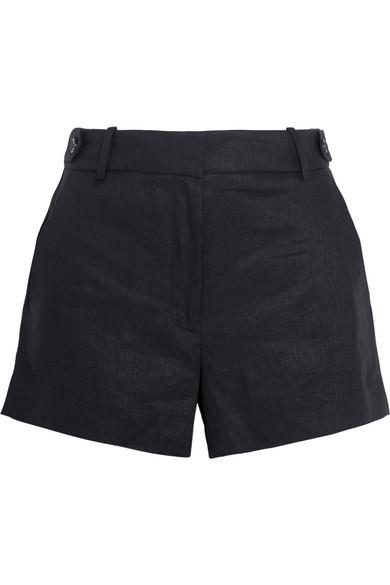 J.Crew - Kyle Linen Shorts - Black