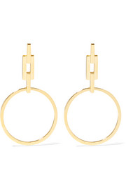 Auro gold-plated earrings