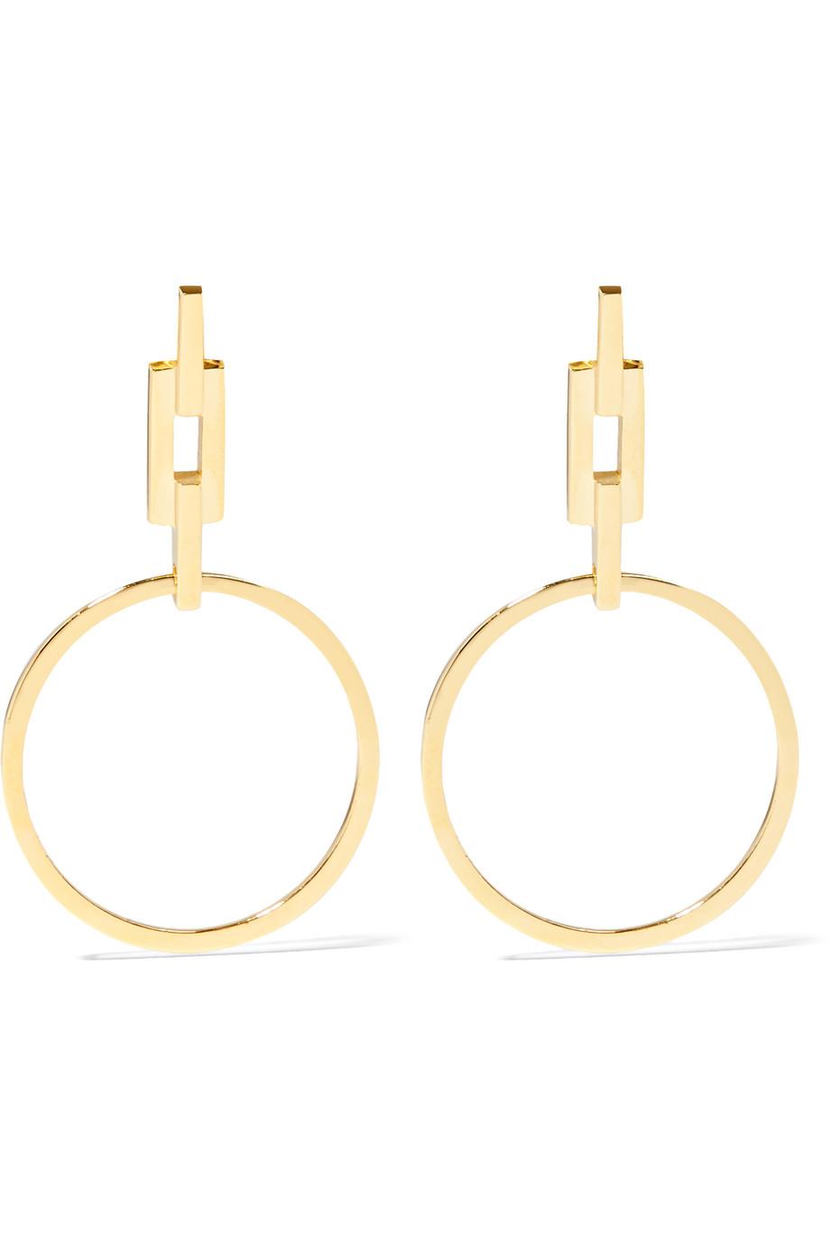Maria Black Auro Gold-Plated Earrings, Women's