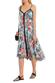 Elizabeth and James Linda printed silk dress