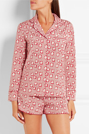 Stella McCartney Poppy Snoozing printed stretch-silk crepe de chine pajama set