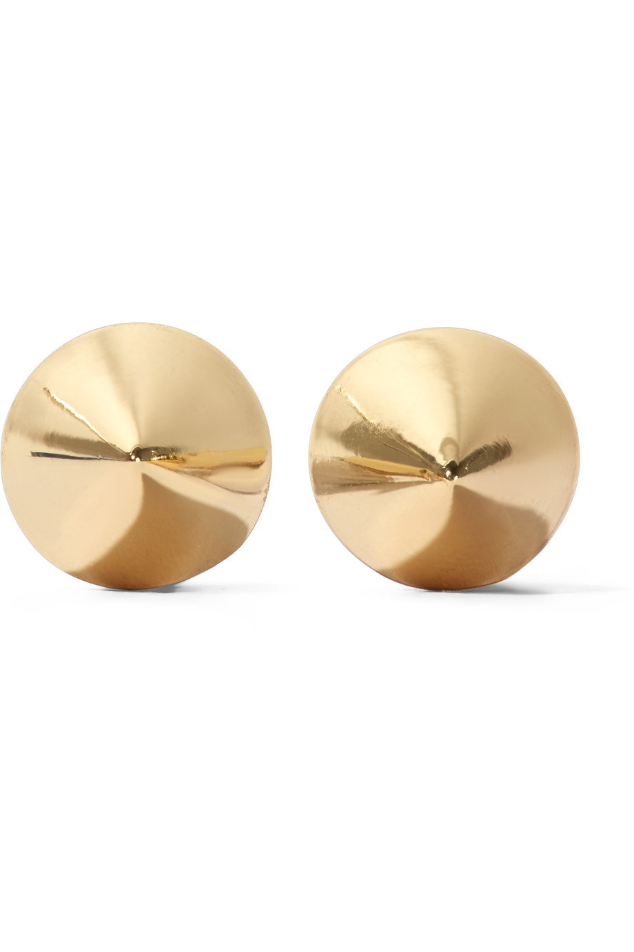 Eddie Borgo Gold-Plated Cone Earrings, Women's