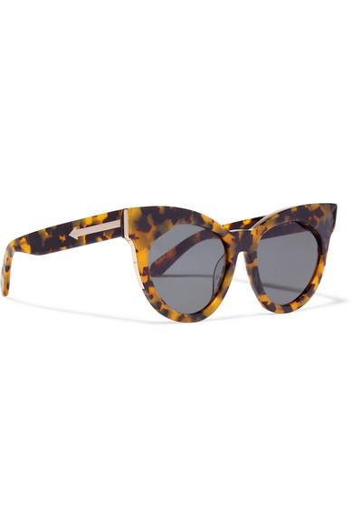 ae024a2b45a Karen Walker. Starburst cat-eye acetate sunglasses