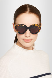Karen Walker Flowerpatch cat-eye acetate sunglasses