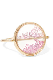 Aurélie Bidermann Chivor 18-karat gold diamond ring