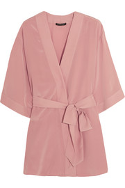 Amour Perfect silk crepe de chine robe