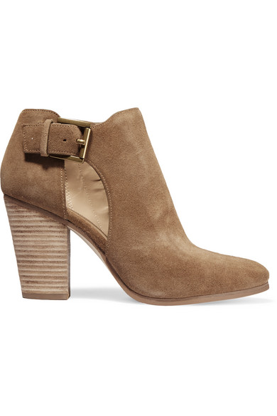 1m3PRn7EVt Suede Ankle Boots Gr. US 10