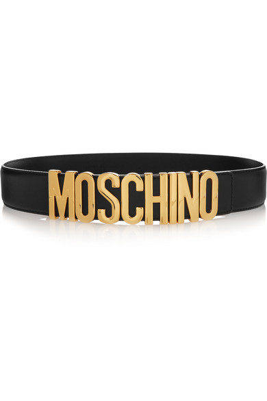 4c0feeac00a Moschino | Embellished leather belt | NET-A-PORTER.COM