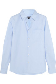 A.P.C. Atelier de Production et de Création Cotton-poplin shirt
