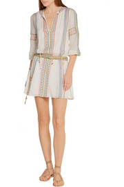Jolene embroidered gauze dress