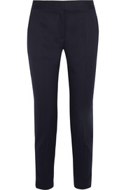 Vivian wool-twill tapered pants