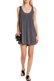 Cotton-jersey tank dress