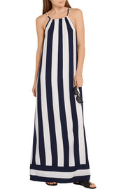 Splendid Capistan striped voile maxi dress