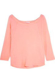 Splendid Vintage Whisper neon Supima cotton-jersey top