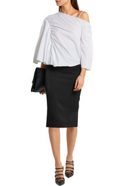 Vivienne Westwood Anglomania Stretch-cloqué pencil skirt