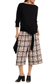 Vivienne Westwood Anglomania Sumo printed stretch-cotton culottes