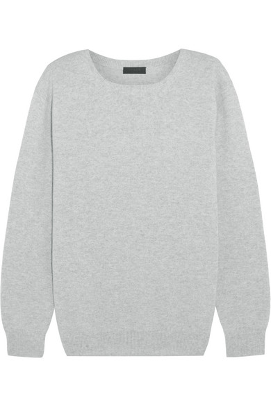 J.Crew - Collection Cashmere Sweater - Light gray