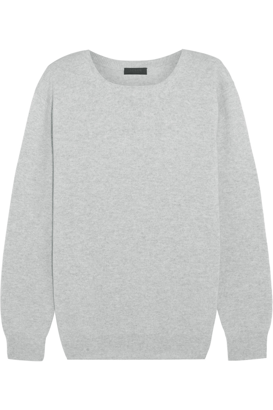 J.Crew Collection Cashmere Sweater, Light Gray, Women's