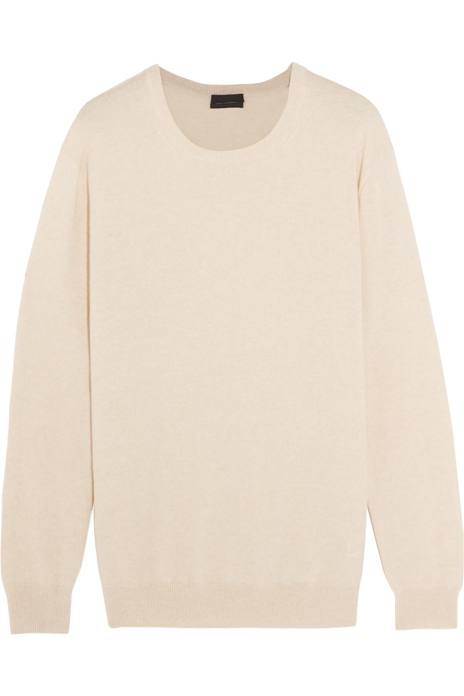 J.Crew Collection Cashmere Sweater, Beige, Women's