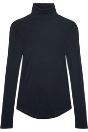 J.Crew Tencel and cashmere-blend turtleneck sweater