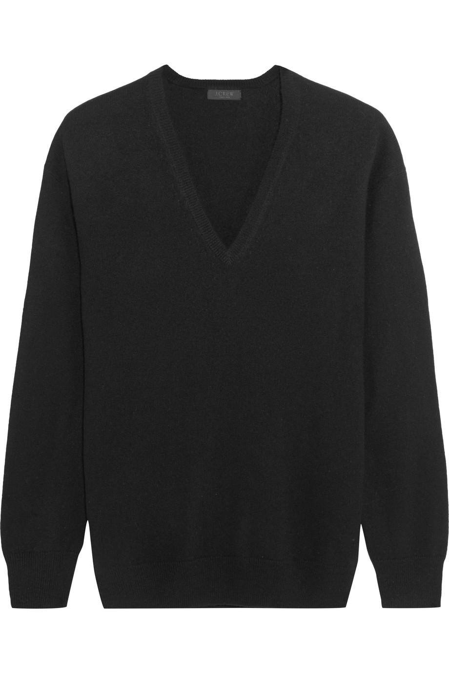 J.Crew Cashmere Sweater, Black, Women's, Size: XXS