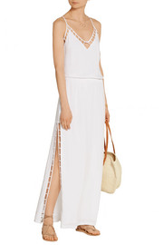Vix Lud voile maxi dress