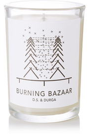 Burning Bazaar scented candle, 200g