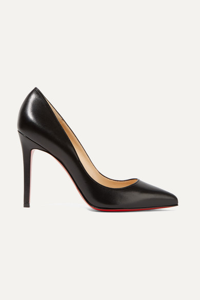 christian louboutin female christian louboutin pigalle 100 leather pumps black