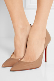 Christian Louboutin Décolleté 554 100 patent-leather pumps