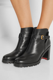Christian Louboutin Communa 70 leather ankle boots