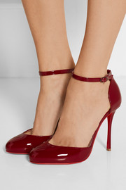 Christian Louboutin Tango Alto 100 patent-leather pumps