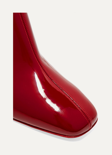 christian louboutin replica heels - Christian Louboutin | Tiagada 70 patent-leather ankle boots | NET ...
