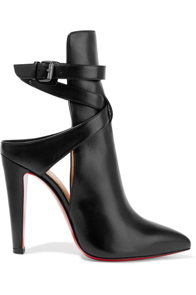 christian louboutin female christian louboutin pointipik 100 leather pumps black