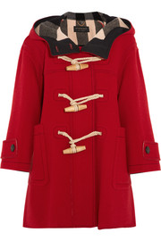 Burberry Prorsum Oversized wool-blend duffle coat