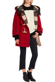 Burberry Oversized wool-blend duffle coat