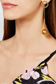 Marni Gold-plated earrings