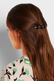 Marni Gold-plated resin hairclip