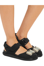 Marni Embellished neoprene sandals