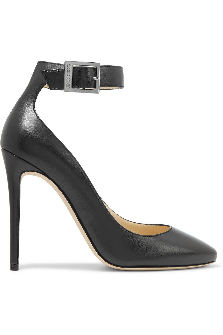 Jimmy Choo Helena Leather Pumps, Black, Women's US Size: 3.5, Size: 34