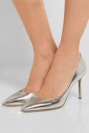 Jimmy Choo Romy mirrored-leather pumps