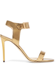 Jimmy Choo Truce metallic leather sandals