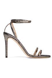 Memento Tizzy textured-leather sandals