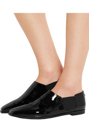 Jimmy Choo Glint patent-leather loafers