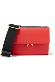 Wallet small color-block leather shoulder bag