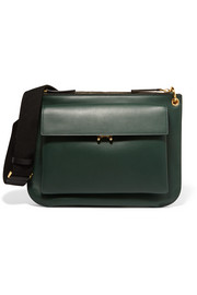 Marni Wallet medium two-tone leather shoulder bag